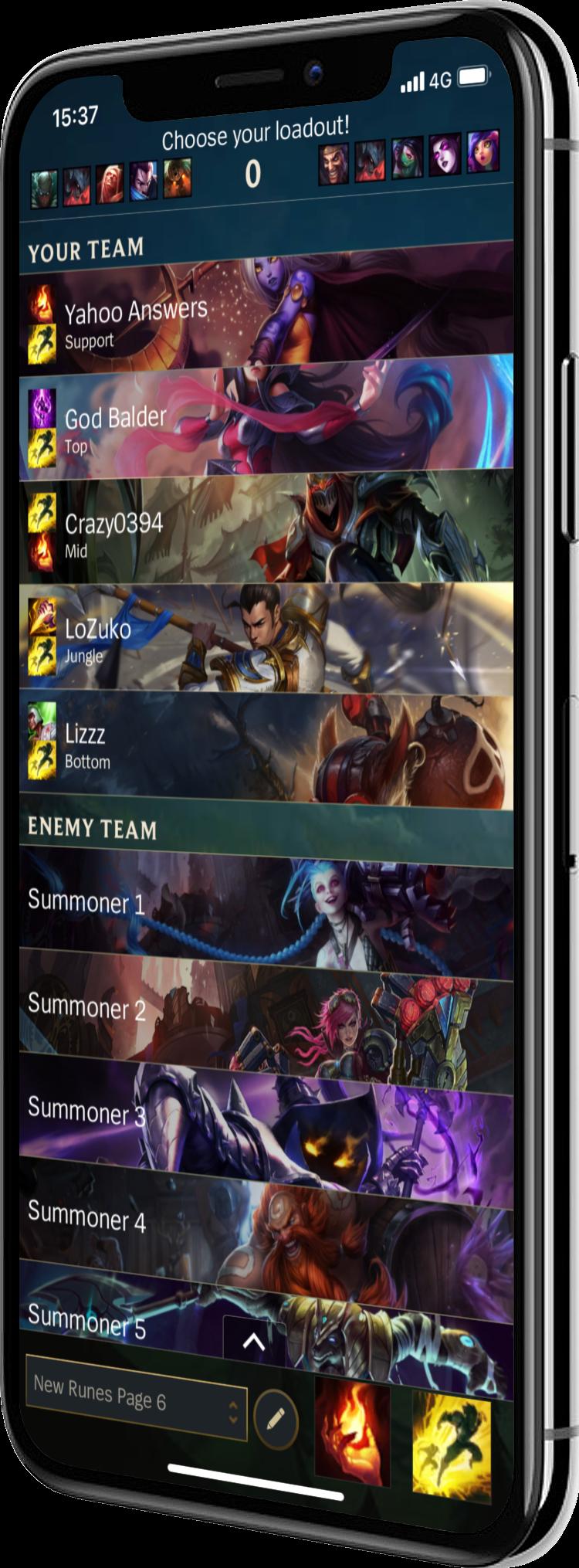 Mimic - A League Client On Your Phone